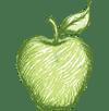 logo maçã grande